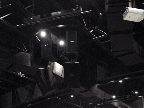 Overdrive Productions Inc. installed Bose LT Loudspeakers at Grace Church International
