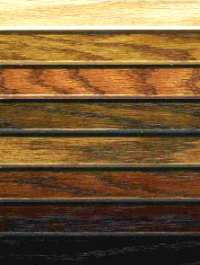 Available Hardwood Stain Colors