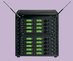 Rack Mounted Wireless Microphone Systems