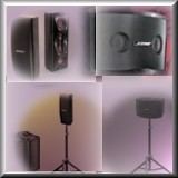 Portable Sound Products - Available at Overdrive Productions! - Click Here For Audio Rental Information